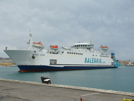Balearia ferries ibiza photo