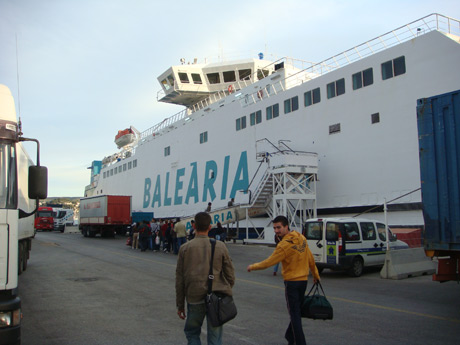 Balearia ferry to ibiza photo