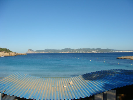 Bars on the beach ibiza photo